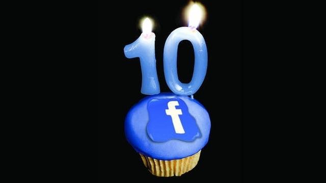 Facebook Efsanesi 10 Yaşında!