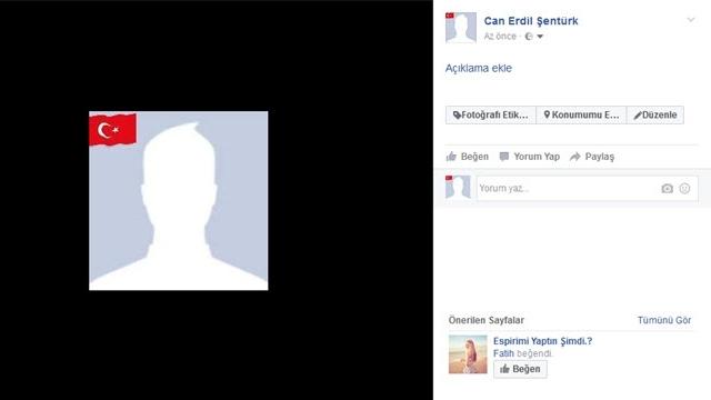 Facebook Profil Fotoğrafına Bayrak Ekleme Nasıl Yapılır