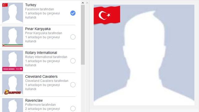 Facebook'ta Bayrakları Asma Dönemi Geldi!