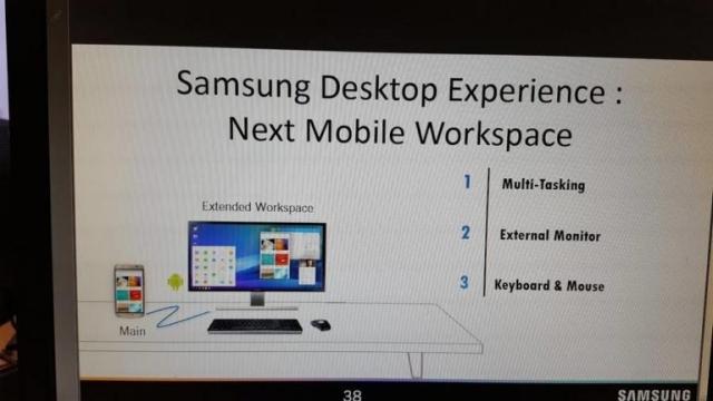 Galaxy S8'i Bilgisayar Gibi Kullanabilmemiz Mümkün Olabilir