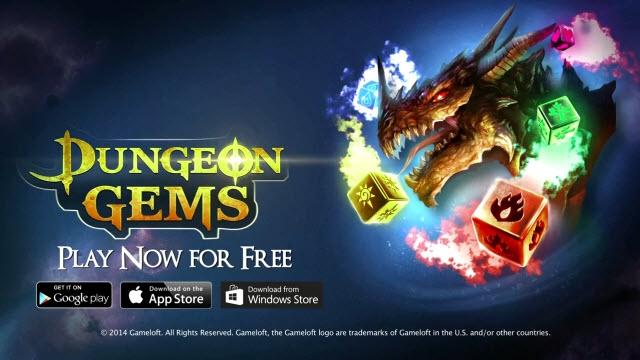 Gameloft'un Yeni Oyunu Dungeon Gems Çıkış Yaptı