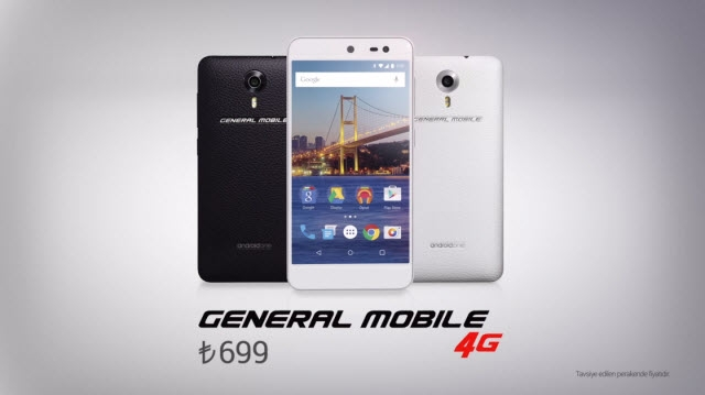 General Mobile 4G ile Türkiye de Android One Programına Dahil Oluyor