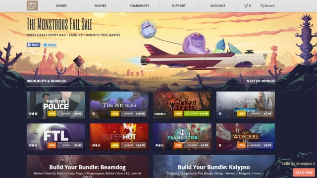 GOG'daki Ücretsiz Oyun Fırsatını Kaçırmayın!