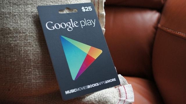 Google Play Hediye Kartları Artık Mağazalarda!