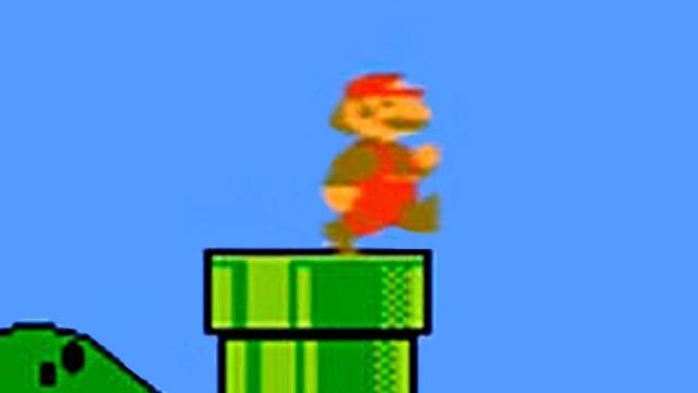 Google'dan Super Mario Bros. Jesti