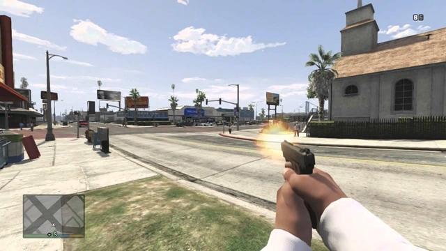 GTA 5 PC Versiyonu Bir FPS Oyunu Gibi Oynanabilir