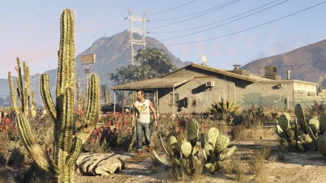 GTA 5 PC Versiyonuna Özel 60 FPS Video Yarın Yayınlanacak