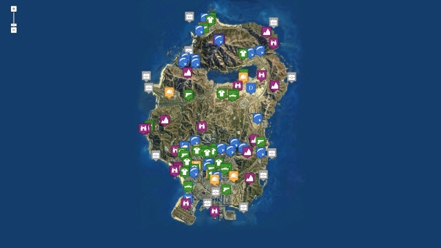 GTA 5'teki Gizli Öğeleri Bu Haritayla Daha Kolay Keşfedin