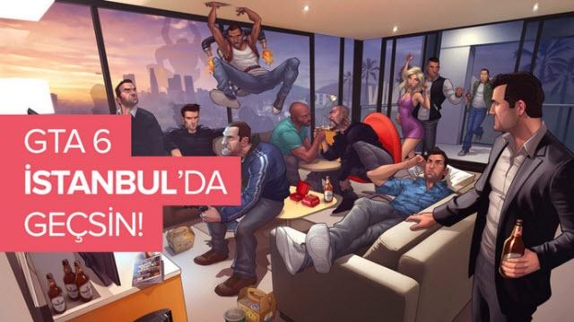 GTA 6 İstanbul'da Geçsin İster Misiniz?