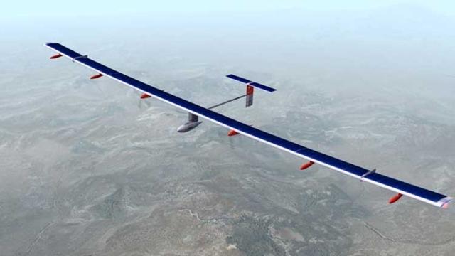 Güneş Enerjisiyle Çalışan Uçak İlk Yolculuğuna Hazırlanıyor