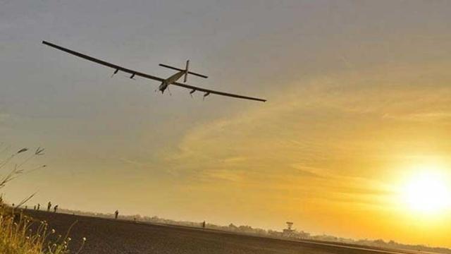 Güneş Enerjisiyle Çalışan Uçak Pasifik Yolculuğunu Tamamladı