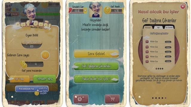 Haftanın Android Oyunu: Metin Uca'dan Gaf Dağı