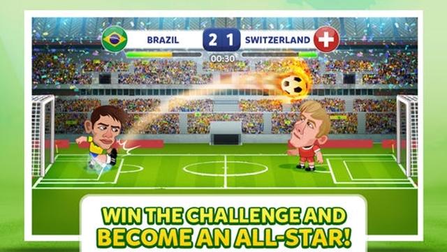 Haftanın iOS Oyunu: Head Soccer - Brazil Cup 2014