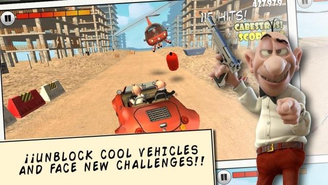 Haftanın iOS Oyunu: Mortadelo & Filemon: Frenzy Drive