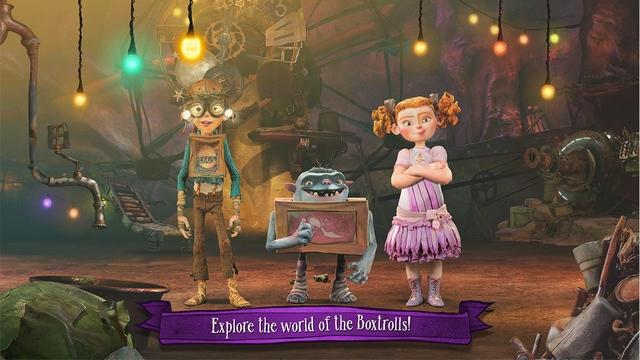 Haftanın iOS Oyunu: The Boxtrolls: Slide 'N' Sneak