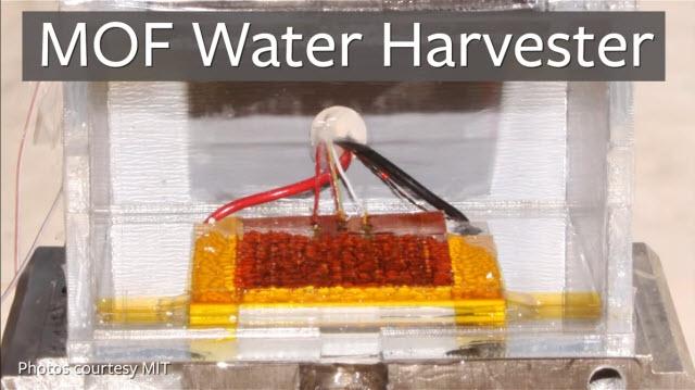 Havadan Su Üreten Güneş Enerjili Cihaz Yapıldı!