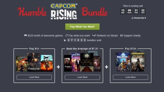 Humble Capcom İndiriminde DMC Sadece 1 Dolar!