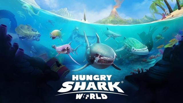 Hungry Shark World Çıktı! Hemen İndirin!