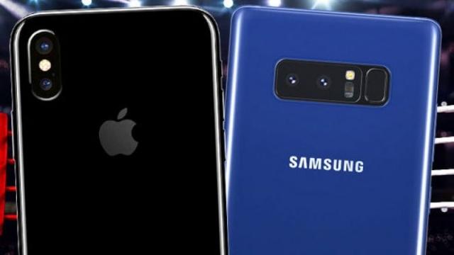 iPhone X ve Galaxy Note 8 Karşılaştırması
