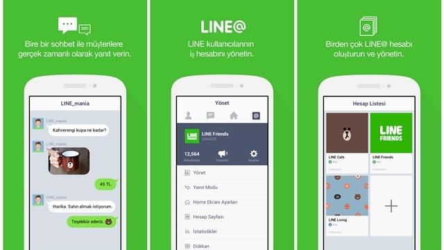 LINE'dan Firmalara ve Ünlülere Pratik, Hızlı ve Ekonomik İletişim Çözümü: LINE@