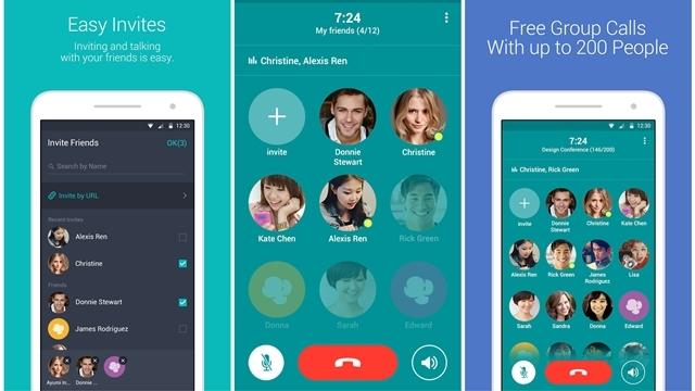 LINE'ın Yeni Sesli Arama Uygulaması ile 200 Kişi Aynı Anda Grup Sohbeti Yapabiliyorsunuz
