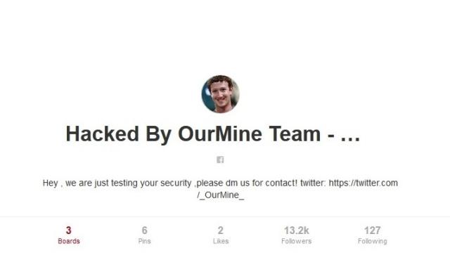 Mark Zuckerberg'in Sosyal Medya Hesapları Hacklendi!