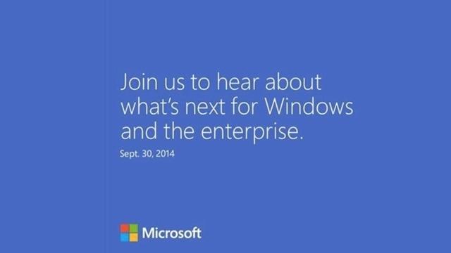 Artık Resmi: Microsoft 30 Eylül'de Büyük Bir Bomba Patlatacak