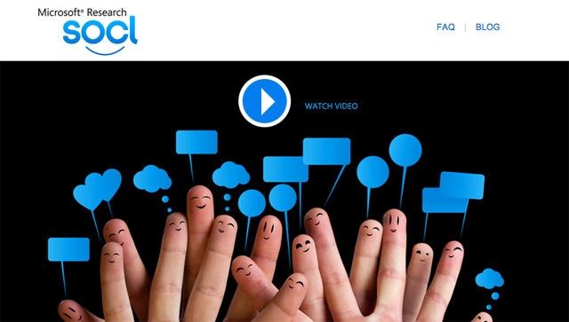 Microsoft Sosyal Ağı Socl İçin Mobil Uygulamalarını Yayınladı