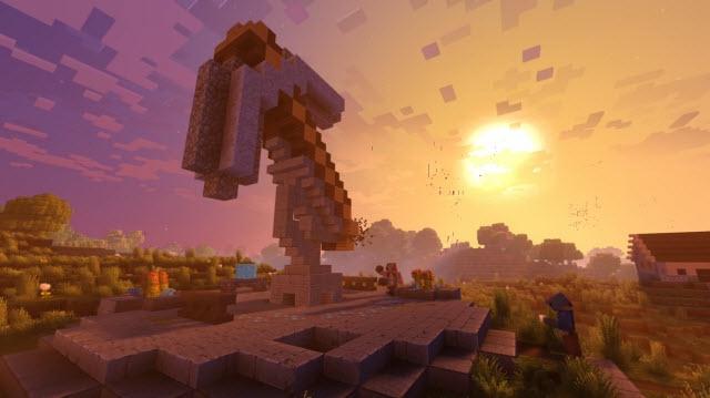 Minecraft'a 4K Grafikler ve Pazar Yeri Geliyor!