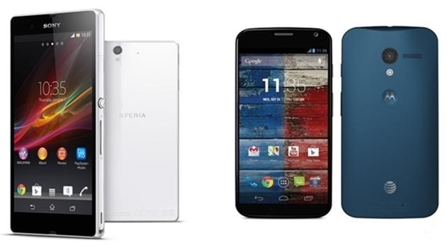 Moto X ve Sony Xperia Z Karşılaştırması