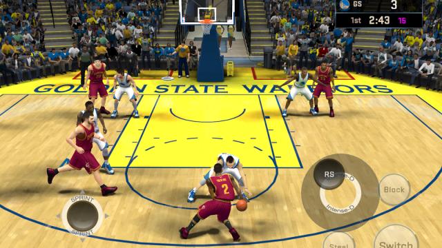 NBA 2K16 Android ve iOS Versiyonları Çıktı!