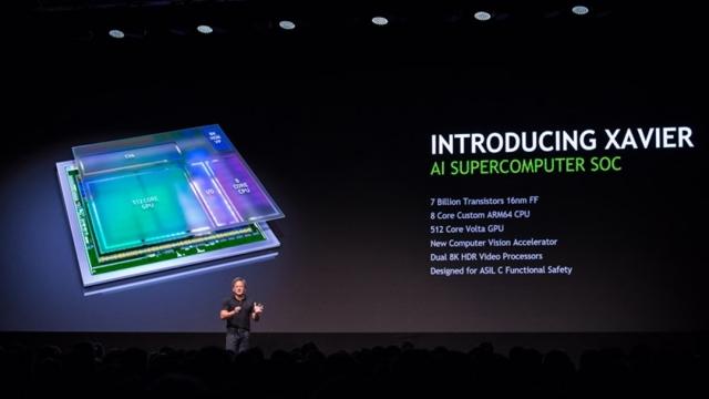 Nvidia, Akıllı Arabaların Beyni Olacak Yeni Xavier İşlemcisini Tanıttı