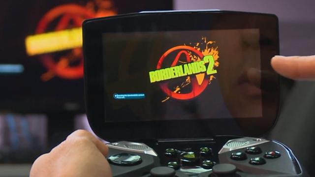 Nvidia Shield Gövde Gösterisi Yapıyor