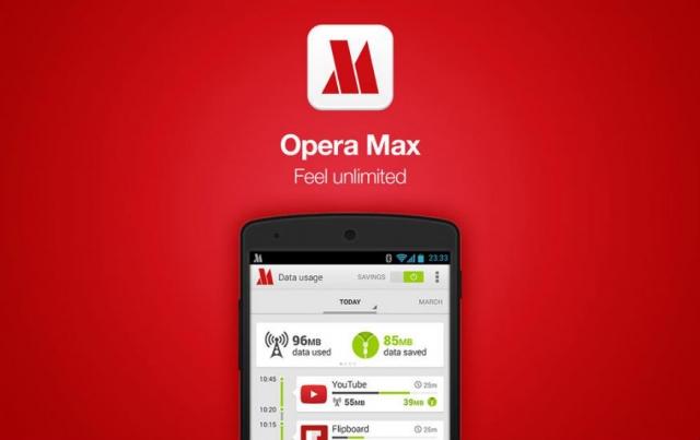 Opera Max ile İnternet Kotanızı Aşmanızın Önüne Geçin!