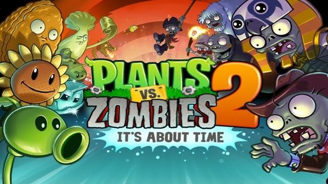 Plants vs. Zombies 2 Android Versiyonu Çıktı!