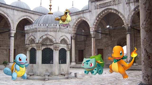 Pokemon GO'nun Camilerde Yasaklanması İçin Duyuru Yapıldı