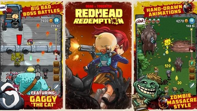 9GAG'in Mobil Aksiyon Oyunu Redhead Redemption Çıktı!