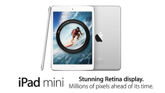 Retina Ekranlı Yeni iPad Mini Tanıtıldı!