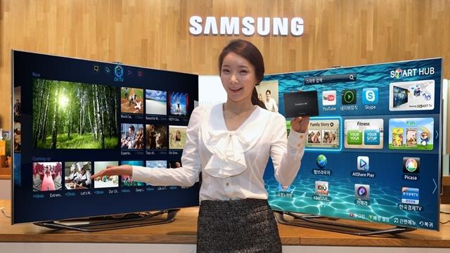 Samsung 2013 TV Modellerini Tanıttı! - CES 2013