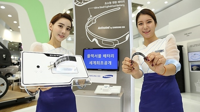 Samsung Esnek Batarya Geliştirdi!