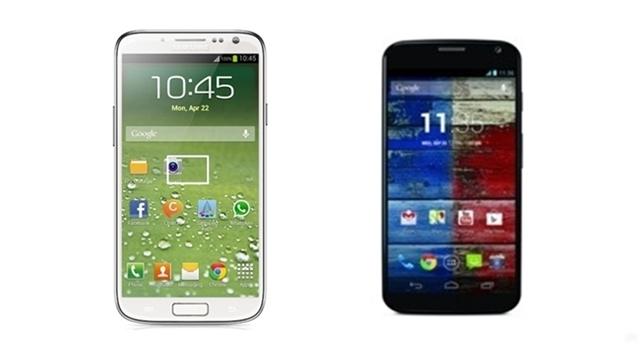 Samsung Galaxy S4 ile Moto X Karşılaştırması
