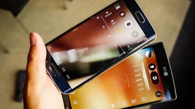 Samsung Galaxy S6 Performansıyla LG G4'ün Bileğini Büktü
