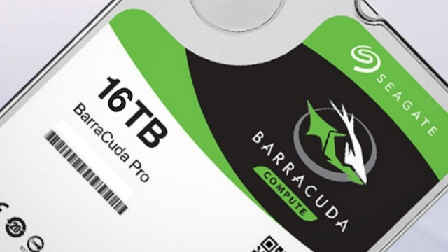 Seagate 14 ve 16 TB'lık Sabit Diskler Çıkarmaya Hazırlanıyor
