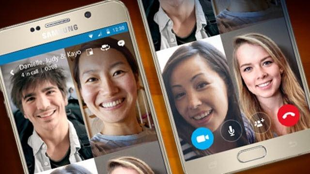 Skype Grup Video Sohbet Özelliği Mobil Cihazlara Geldi