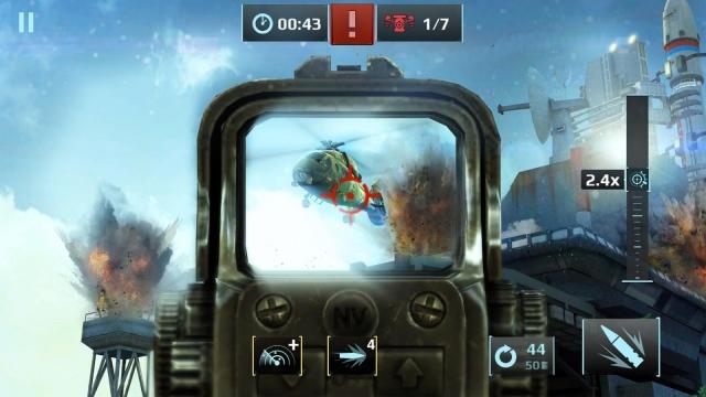 Gameloft'un Yeni FPS Oyunu Sniper Fury Çıkış Yaptı!