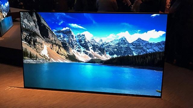 Sony, Ekranından Ses Veren OLED Televizyonlarını Tanıttı