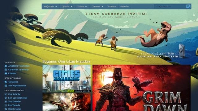 Steam Sonbahar İndirimi Başladı, GTA 5'te Rekor İndirim Var!