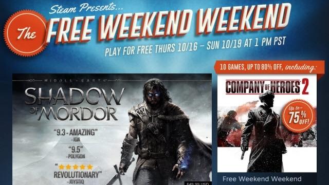 Steam'de Bu Haftasonu Tam 10 Oyun Ücretsiz!