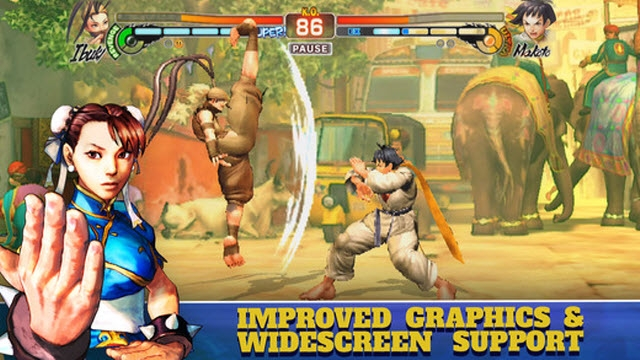 Street Fighter 4 iPhone ve iPad'lere Geldi!