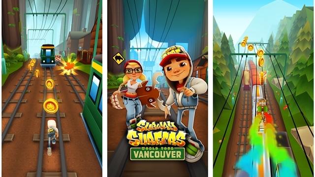 Subway Surfers Dünya Turu Kanada'da!